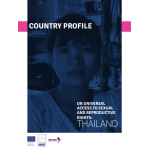 SRHR country profile: Thailand 2013