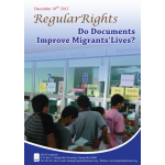 Regular Rights: Do Documents Improve Migrants Lives?  2012